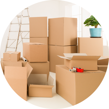 Free packing boxes | Braha Moving Systems