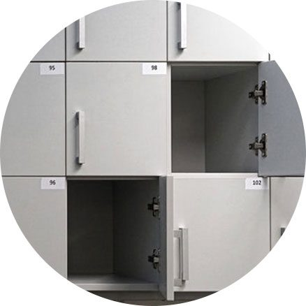 storage rooms   Braha Moving Systems