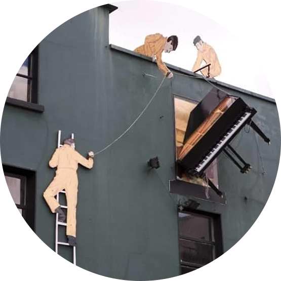 What Could go Wrong?   Piano Professional movers   Braha Moving Systems